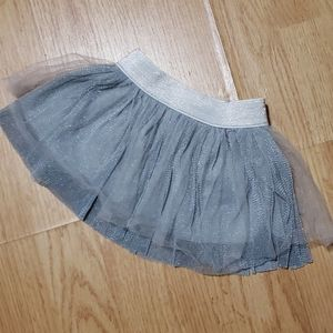 Other - Grey and silver tutu skirt